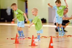 zajęcia piłkarskie dla przedszkolaków