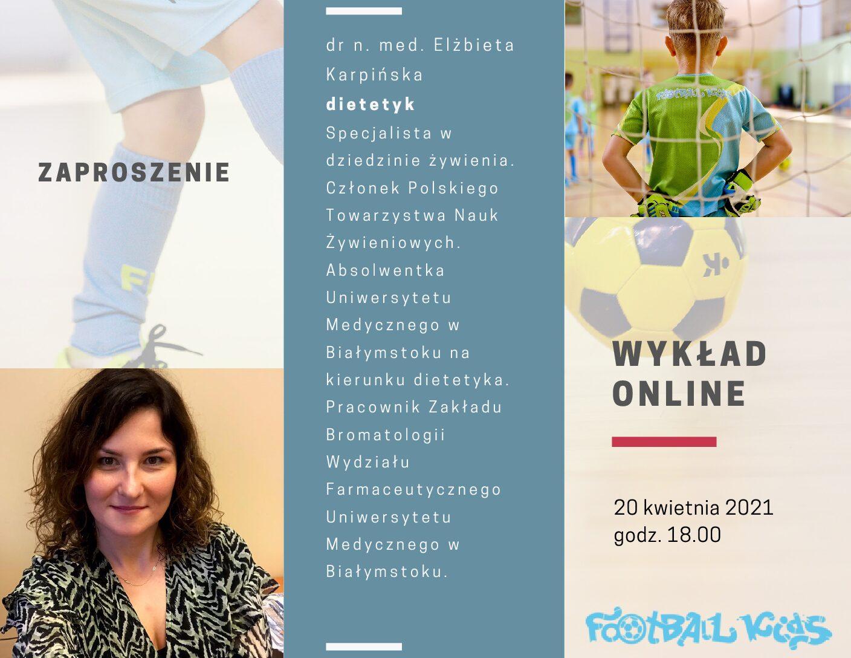 Webinar o zdrowej diecie dla aktywnego dziecka!